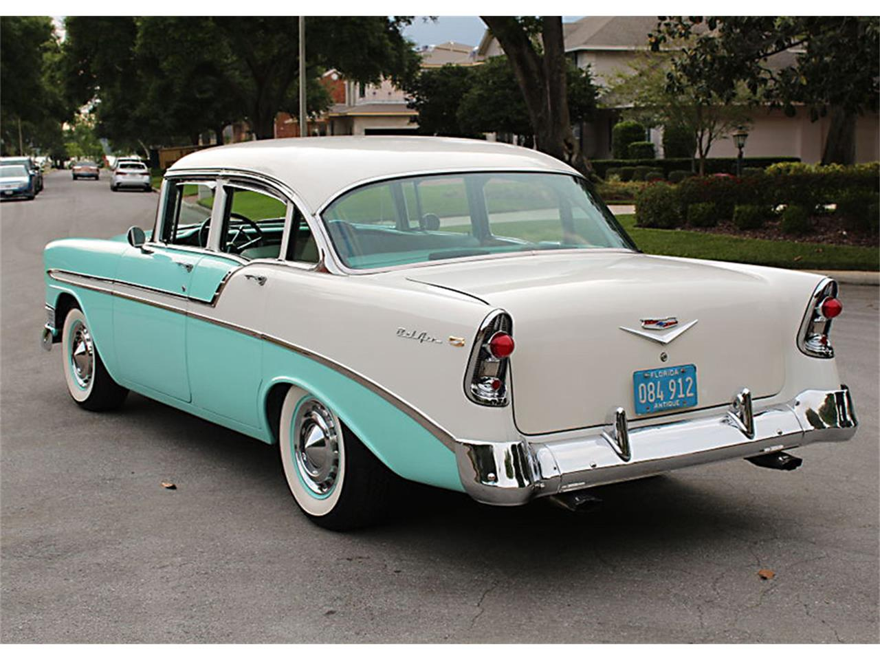 Large Picture of 1956 Chevrolet Bel Air located in Florida - $47,500.00 Offered by MJC Classic Cars - PUZW
