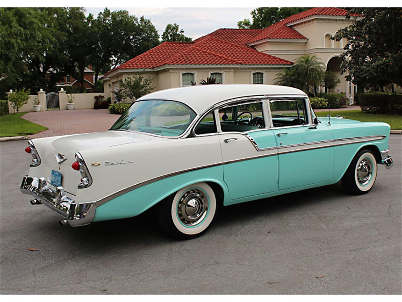 Large Picture of Classic 1956 Chevrolet Bel Air located in Lakeland Florida - $47,500.00 Offered by MJC Classic Cars - PUZW