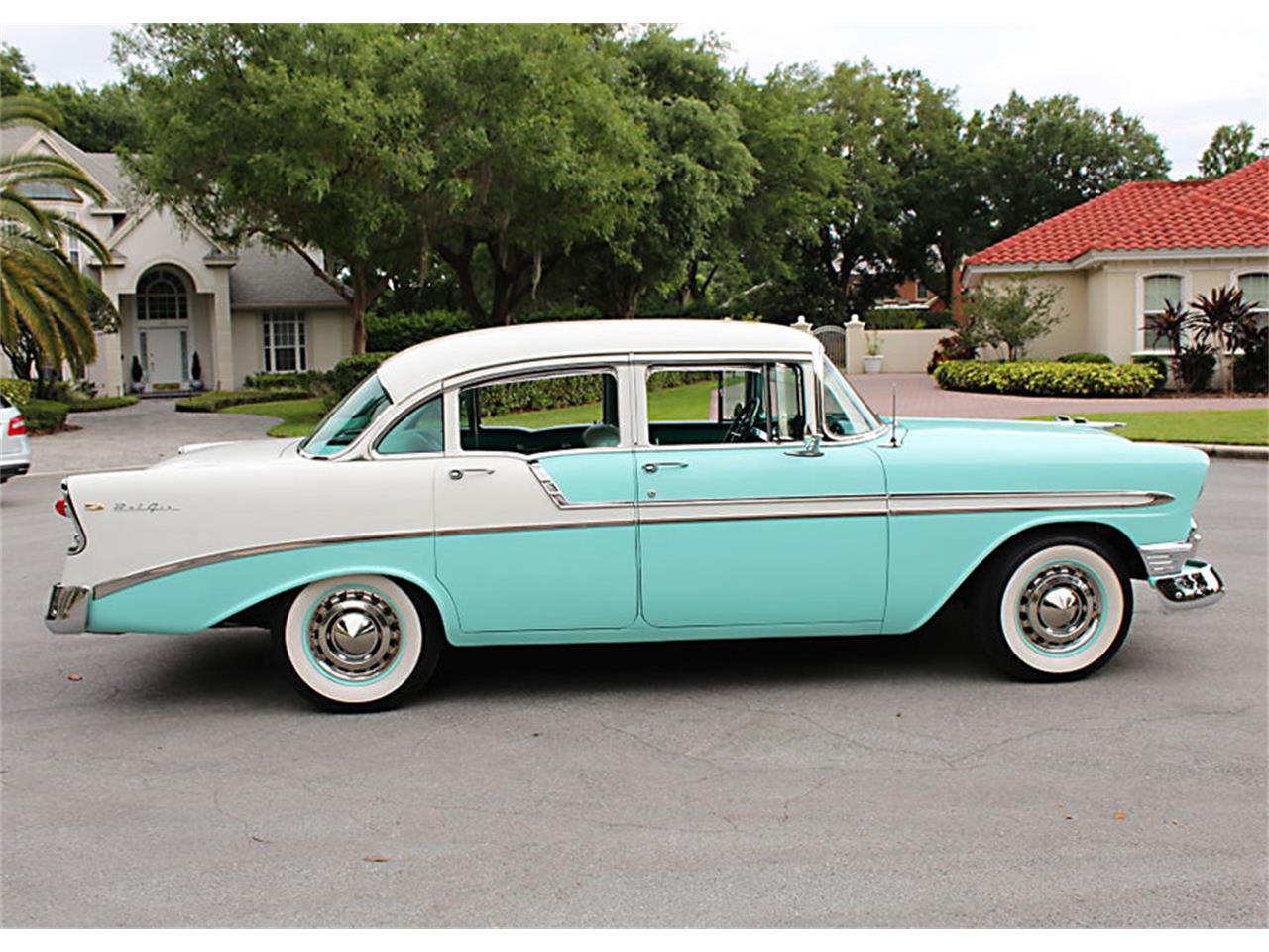 Large Picture of 1956 Bel Air located in Florida Offered by MJC Classic Cars - PUZW