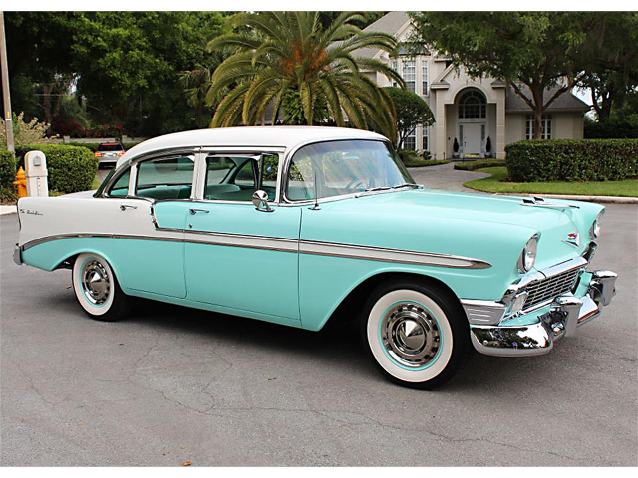 Large Picture of Classic 1956 Chevrolet Bel Air Offered by MJC Classic Cars - PUZW