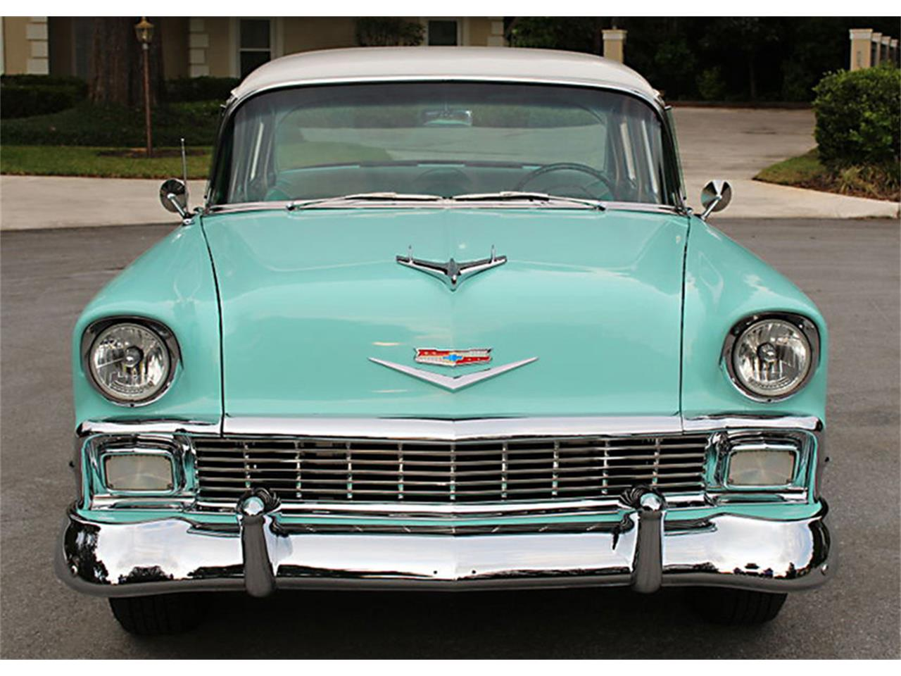 Large Picture of Classic '56 Chevrolet Bel Air located in Florida - $47,500.00 Offered by MJC Classic Cars - PUZW
