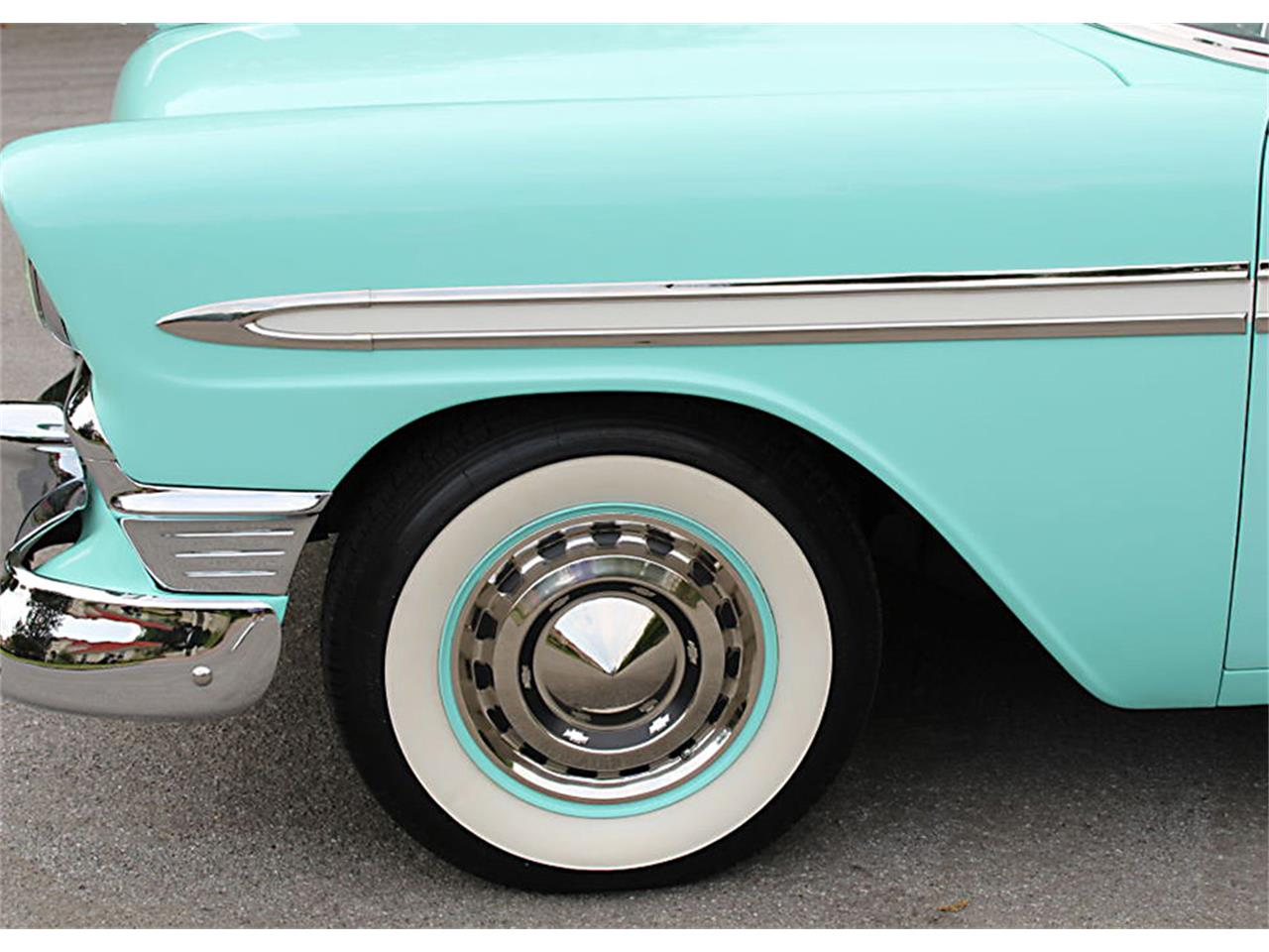 Large Picture of Classic '56 Chevrolet Bel Air Offered by MJC Classic Cars - PUZW