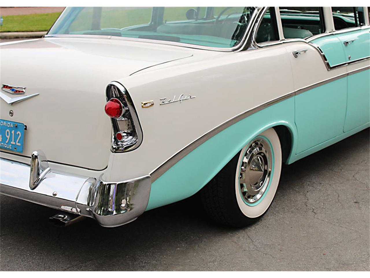 Large Picture of Classic '56 Bel Air located in Florida - $47,500.00 Offered by MJC Classic Cars - PUZW
