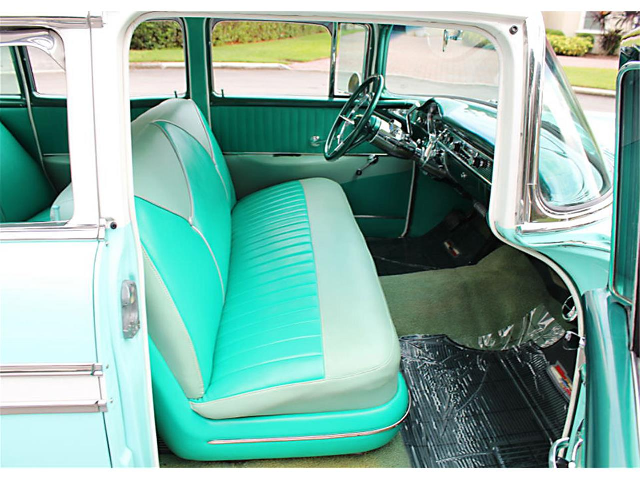 Large Picture of Classic '56 Chevrolet Bel Air located in Lakeland Florida Offered by MJC Classic Cars - PUZW