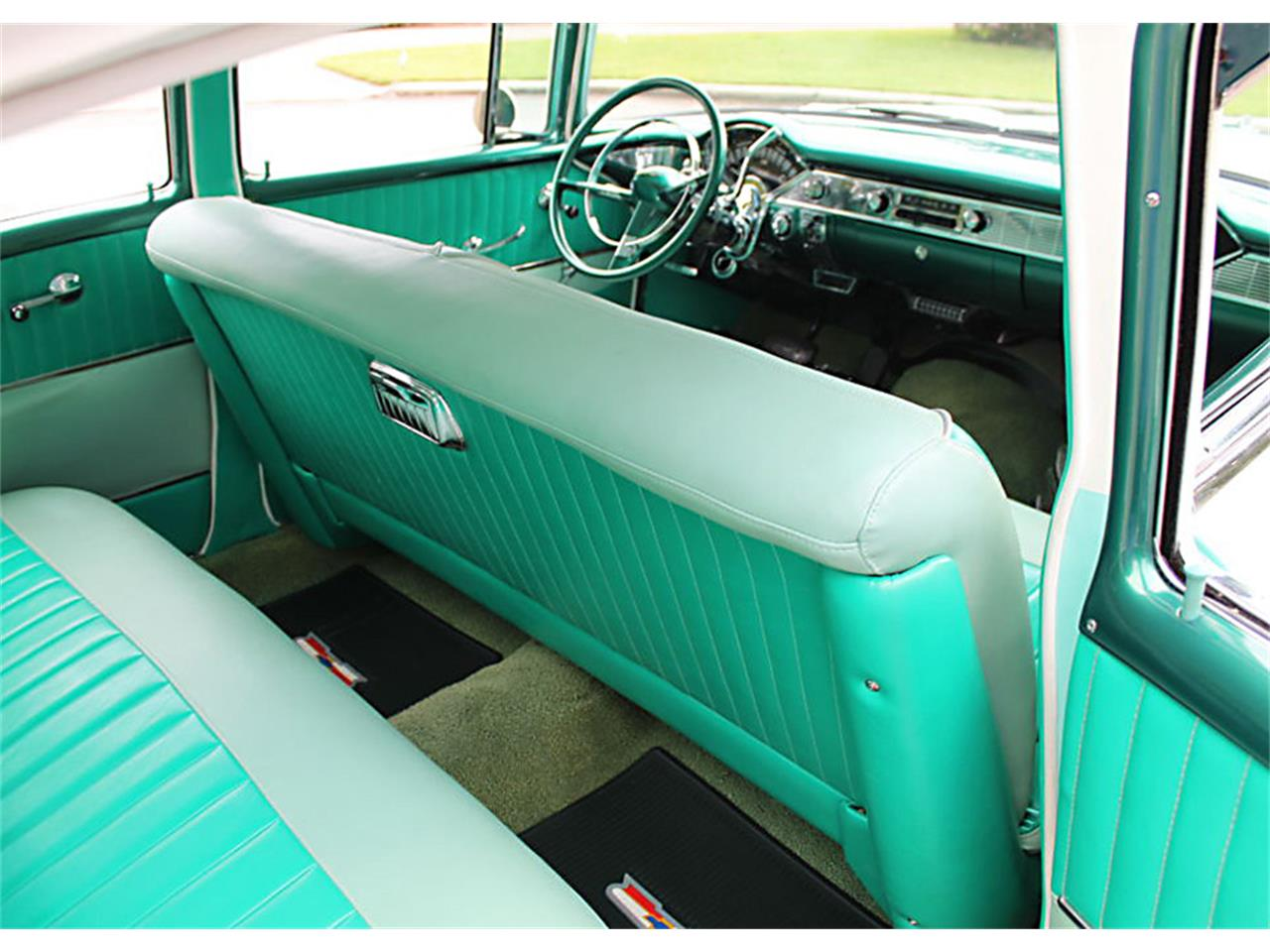 Large Picture of Classic '56 Chevrolet Bel Air located in Florida Offered by MJC Classic Cars - PUZW