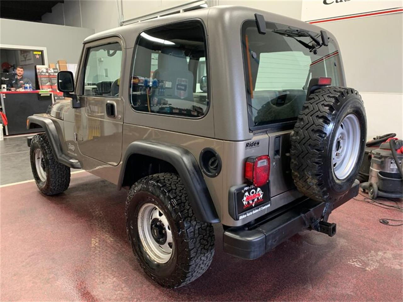 Large Picture of '03 Wrangler - PV2E