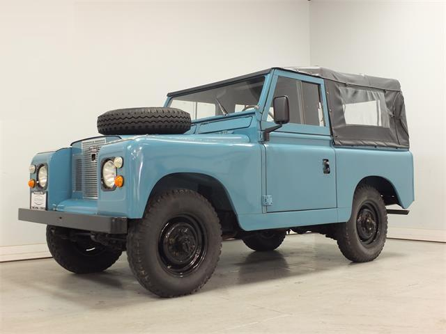 Picture of 1969 Land Rover Series IIA located in Yorktown Virginia - $29,500.00 - PV4I