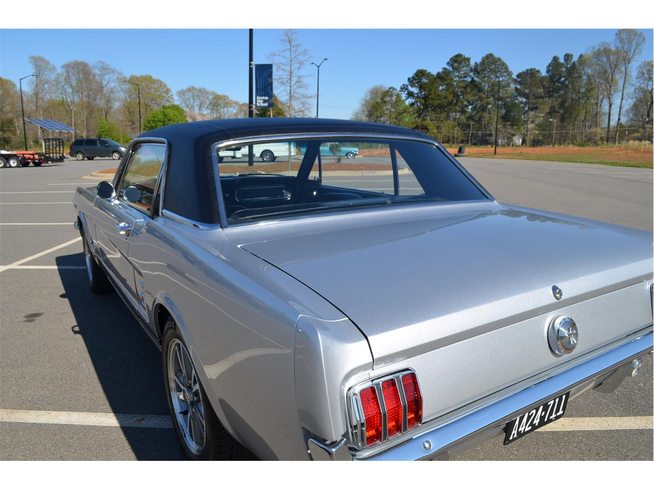 Large Picture of '66 Mustang - PV4Z