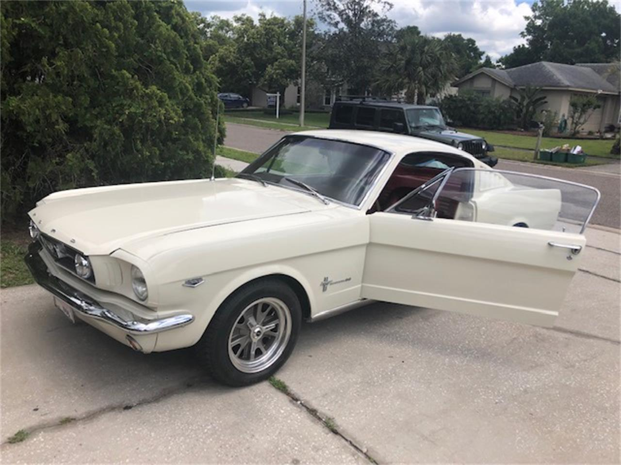 Large Picture of '66 Mustang - PV56