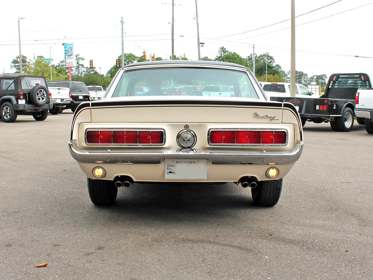 Large Picture of '68 Mustang GT located in Hattiesburg Mississippi Offered by Daniell Motors - PVA6