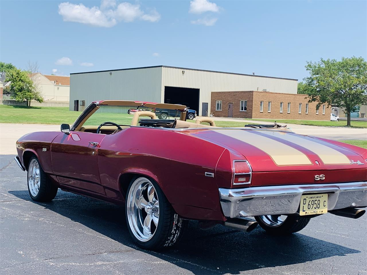 Large Picture of '69 Chevrolet Chevelle located in Illinois Offered by Classic Auto Haus - PVBX