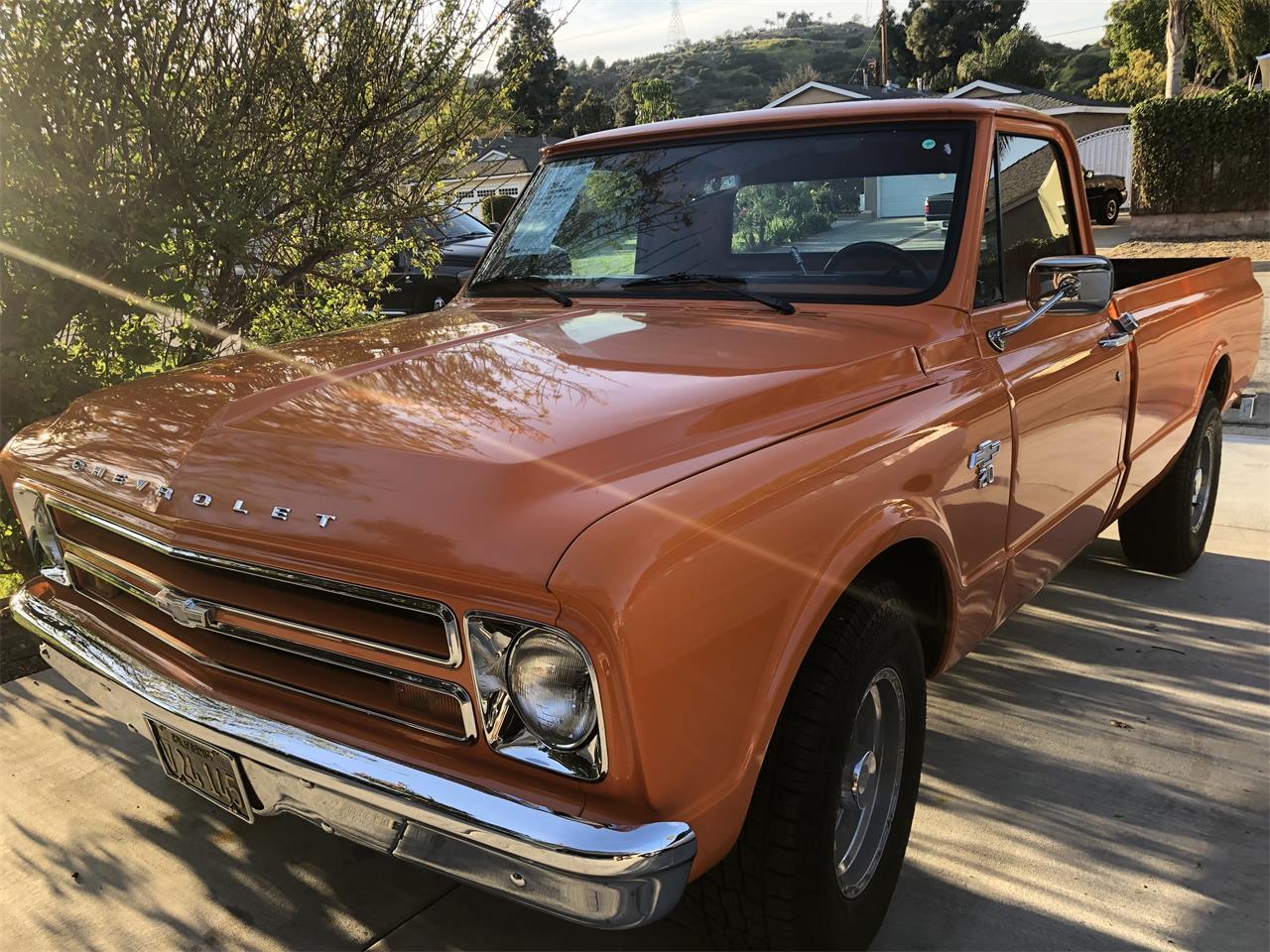 For Sale 1967 Chevrolet Pickup In Glendora California
