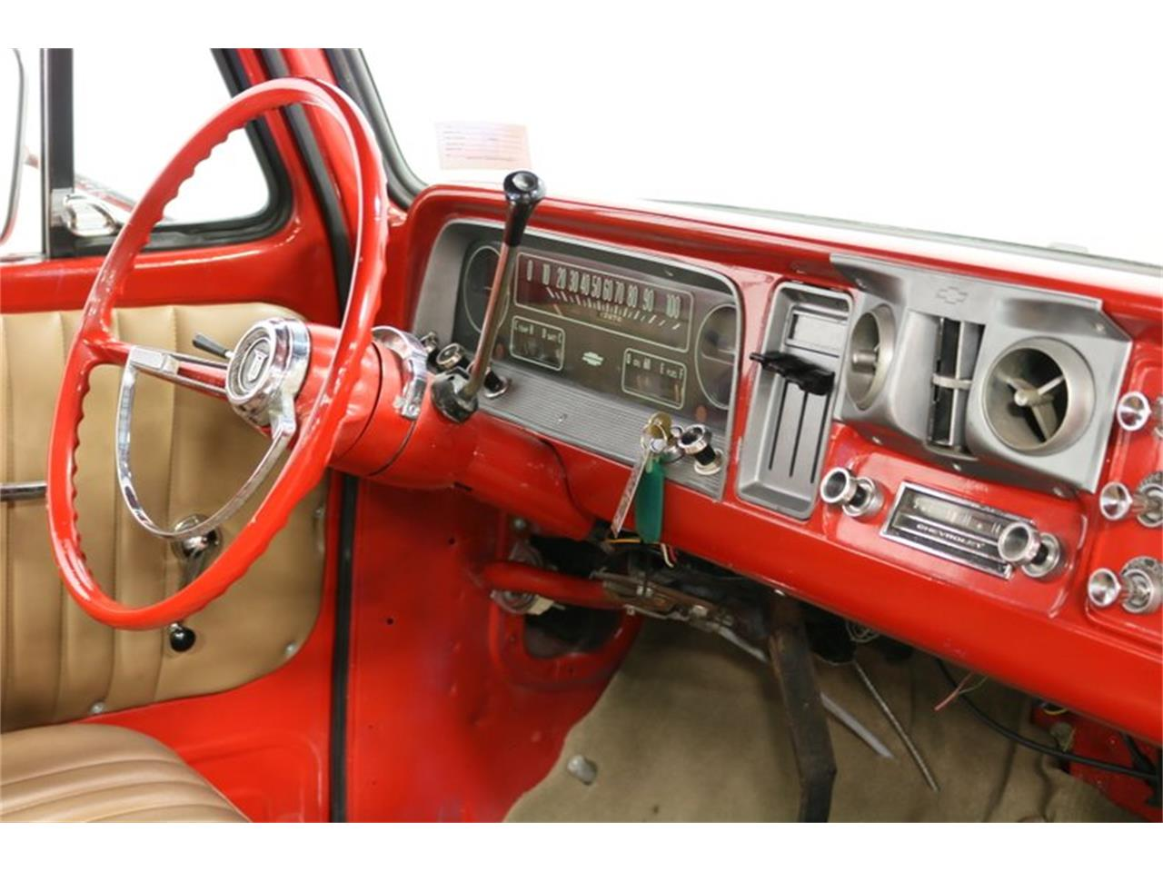 Large Picture of Classic '66 C10 - $32,995.00 Offered by Streetside Classics - Dallas / Fort Worth - PVCV