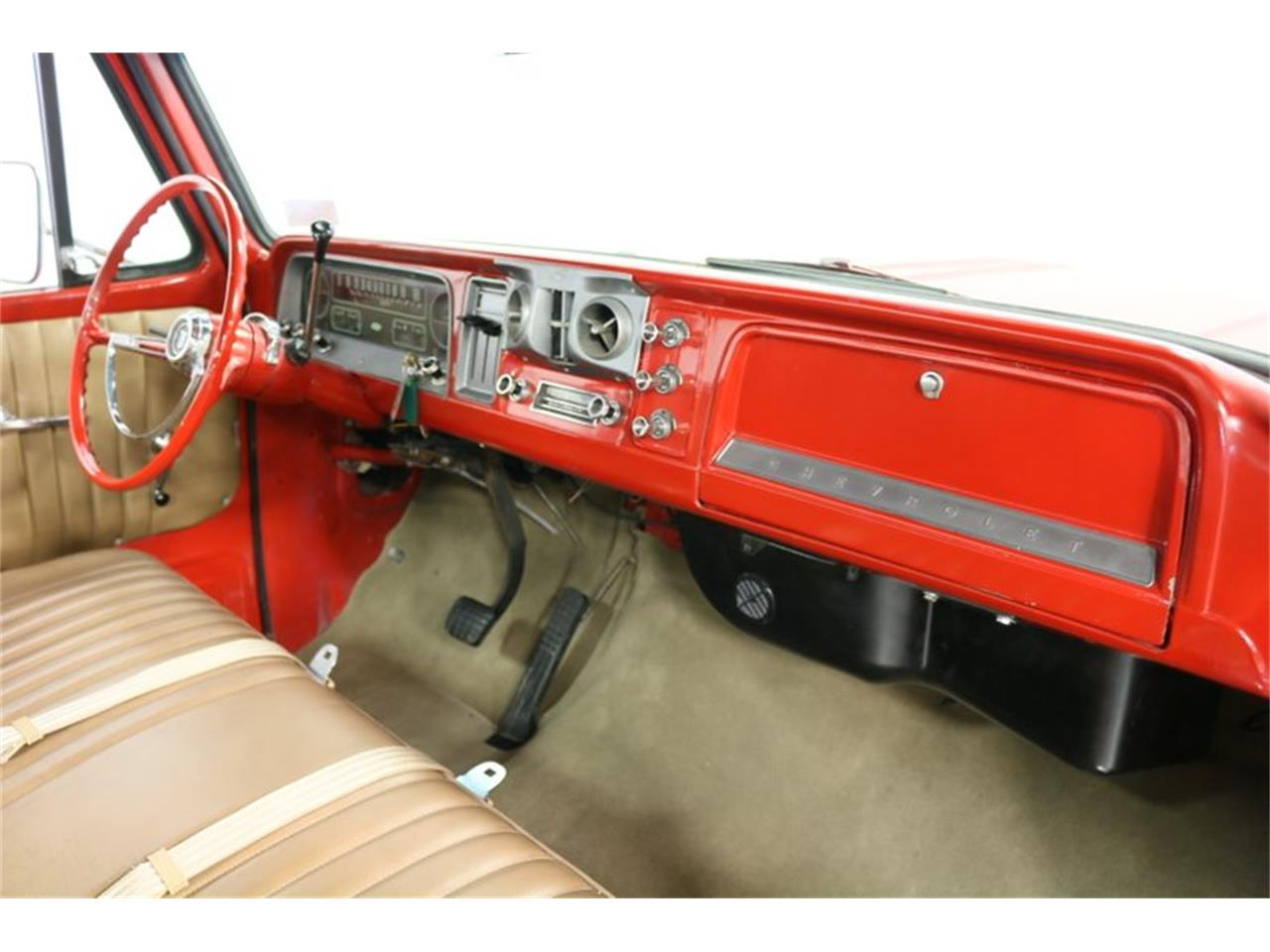Large Picture of '66 Chevrolet C10 located in Ft Worth Texas - $32,995.00 Offered by Streetside Classics - Dallas / Fort Worth - PVCV