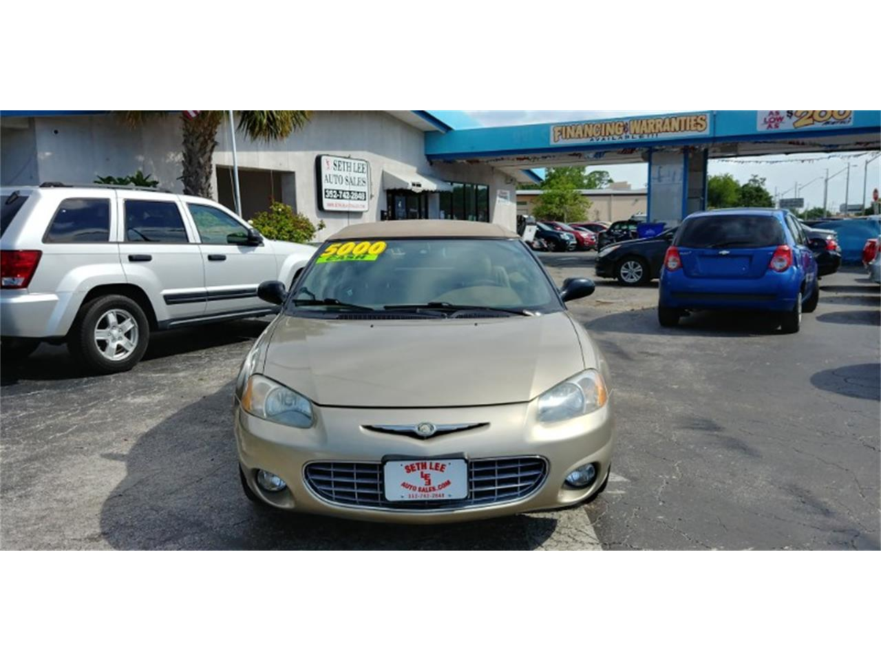 Large Picture of 2002 Chrysler Sebring located in Florida - $4,999.00 Offered by Seth Lee Auto Sales - PVE5