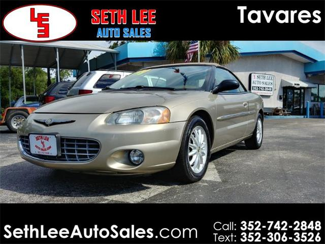 Picture of 2002 Chrysler Sebring located in Florida - $4,999.00 Offered by  - PVE5