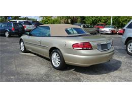 Picture of '02 Chrysler Sebring located in Florida - $4,999.00 - PVE5