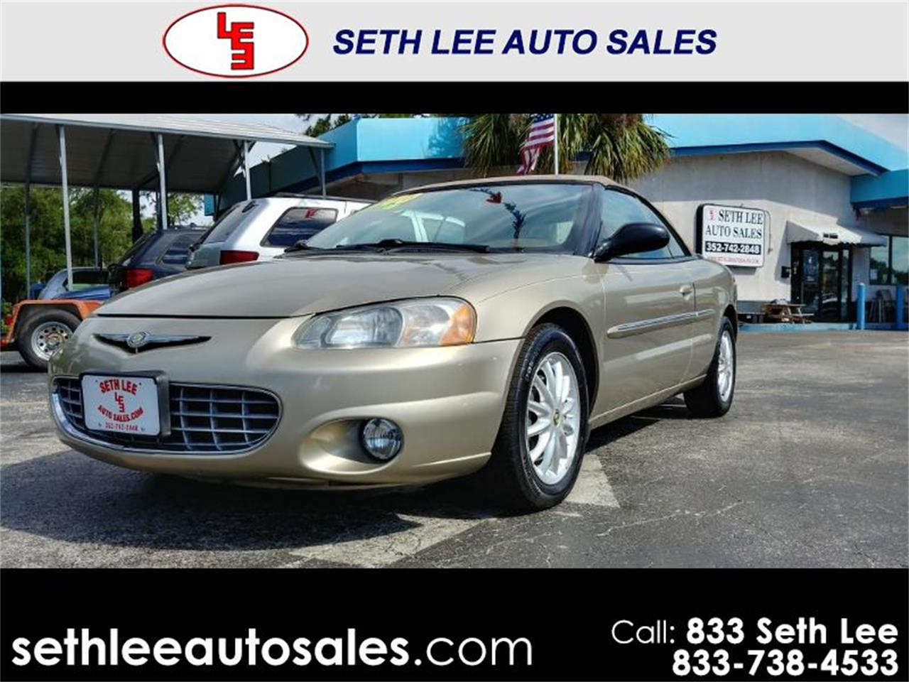 Large Picture of 2002 Sebring located in Tavares Florida - $4,999.00 Offered by Seth Lee Auto Sales - PVE5