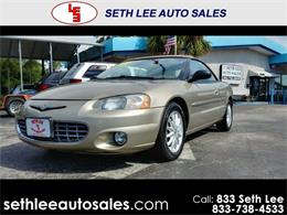 Picture of 2002 Chrysler Sebring located in Tavares Florida - $4,999.00 - PVE5
