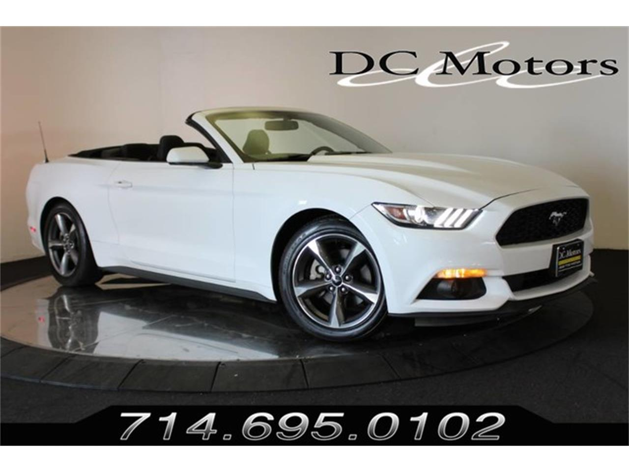 Large Picture Of 2016 Mustang Located In Anaheim California 16 850 00 Offered By Dc Motors