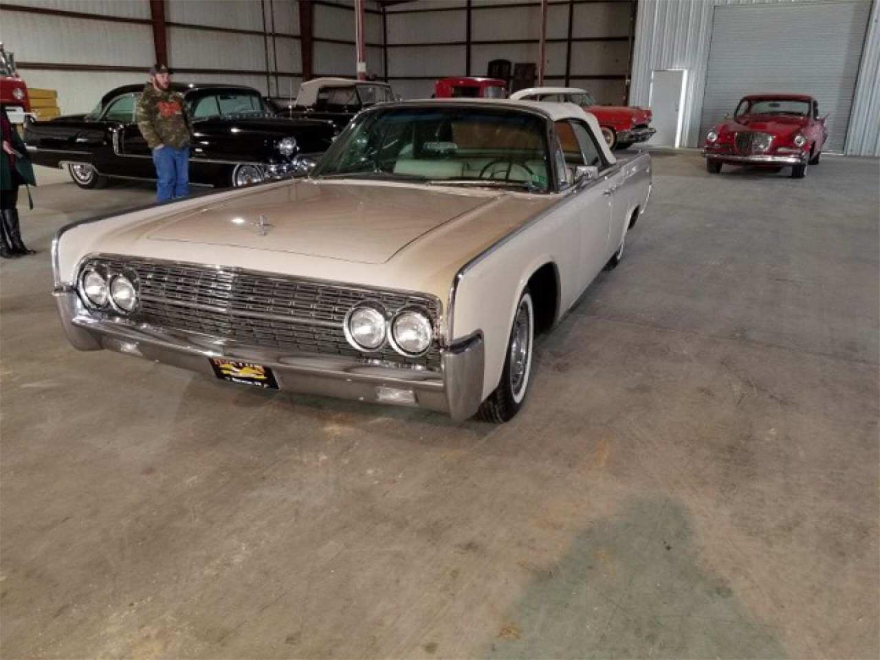 Large Picture of '62 Continental - PVMV