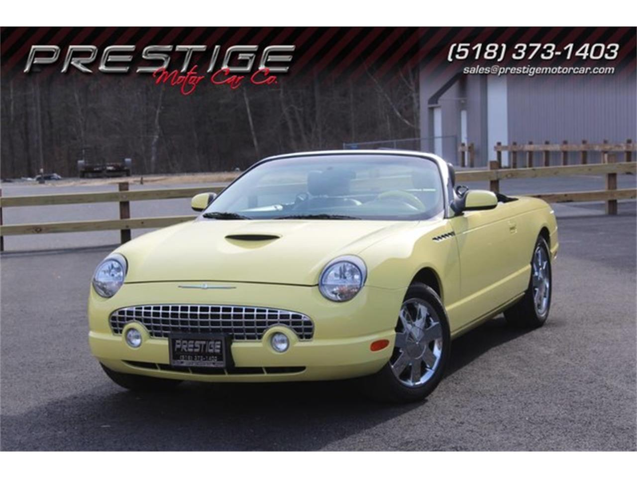 Large Picture of 2002 Ford Thunderbird located in New York - $23,999.00 Offered by Prestige Motor Car Co. - PVQ9