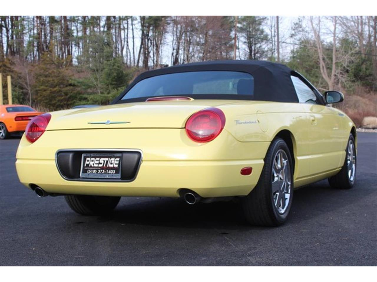 Large Picture of 2002 Ford Thunderbird located in New York - PVQ9
