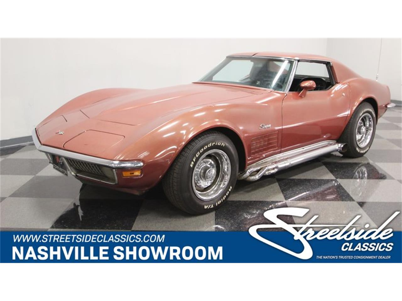 Large Picture of Classic 1970 Corvette located in Tennessee Offered by Streetside Classics - Nashville - PQIK