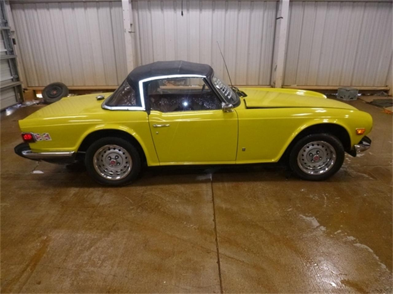 Large Picture of '74 TR6 - PVWC