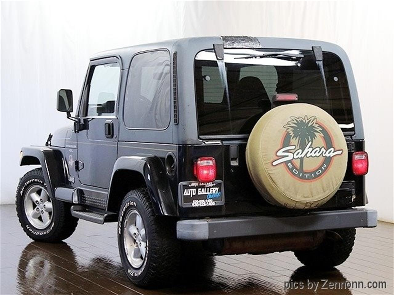 Large Picture of 1999 Jeep Wrangler located in Addison Illinois Offered by Auto Gallery Chicago - PW0L
