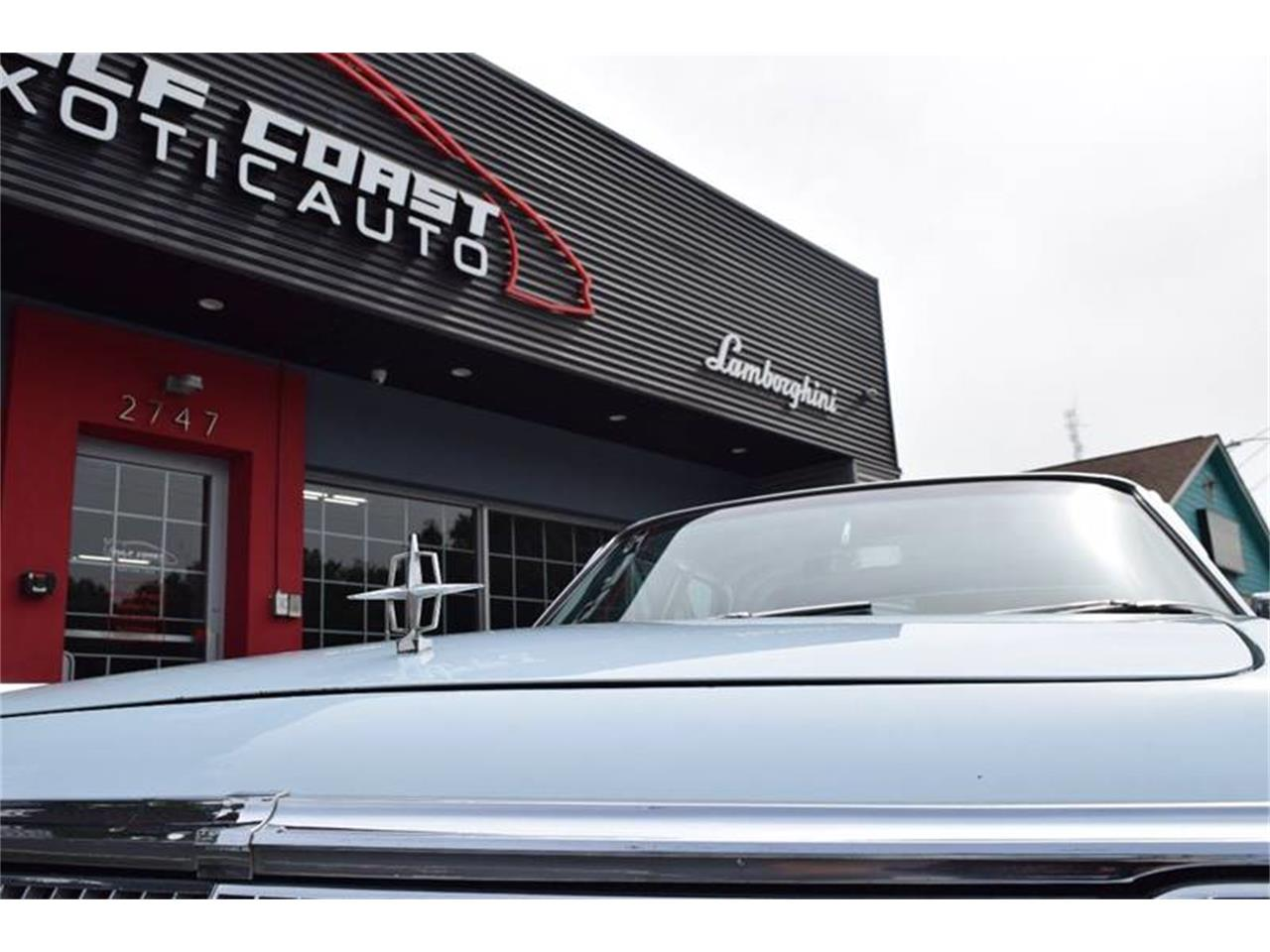 Large Picture of '63 Continental - PQJY