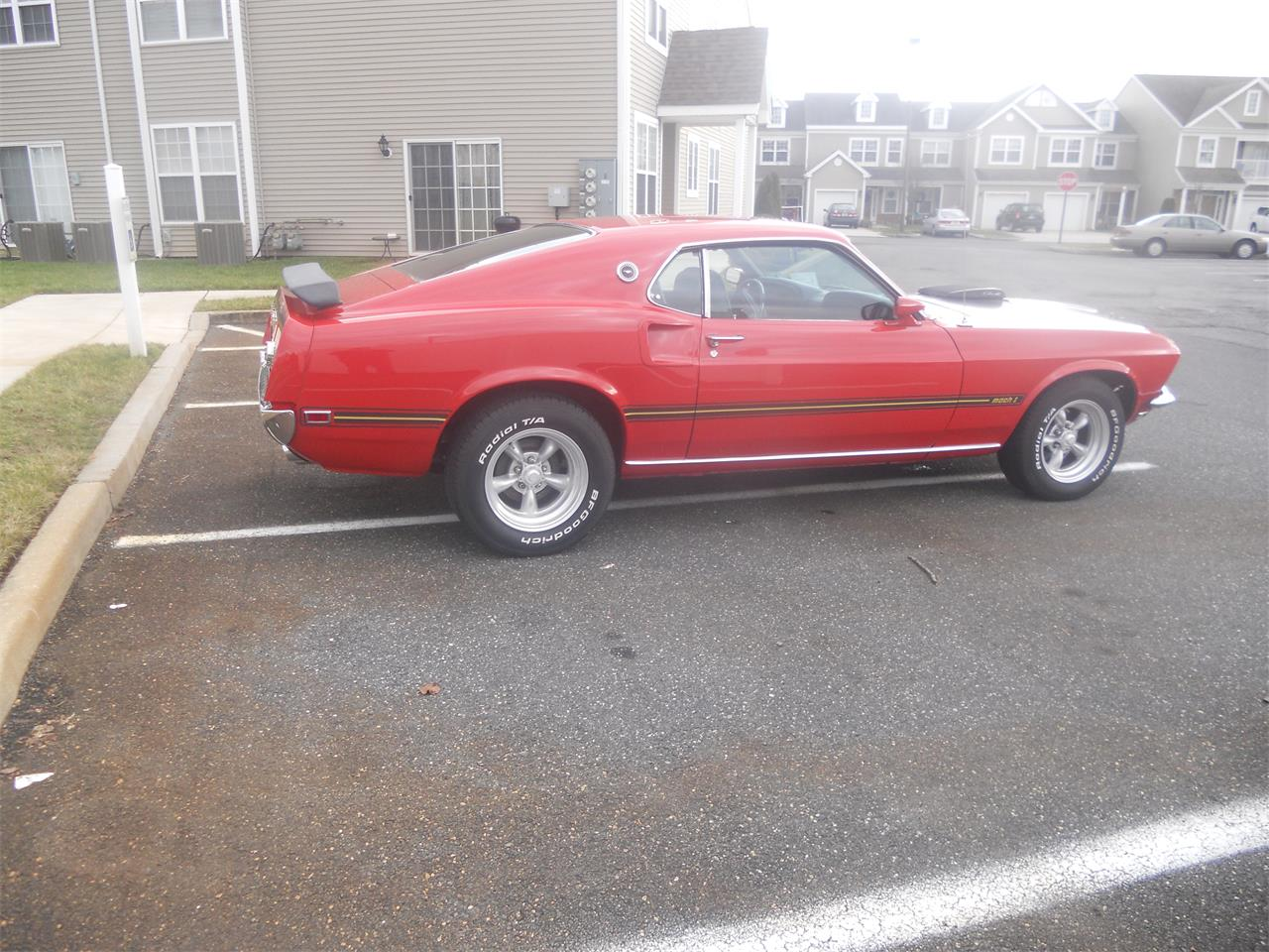 Large Picture of Classic 1969 Mustang Mach 1 located in New Jersey - PW7G