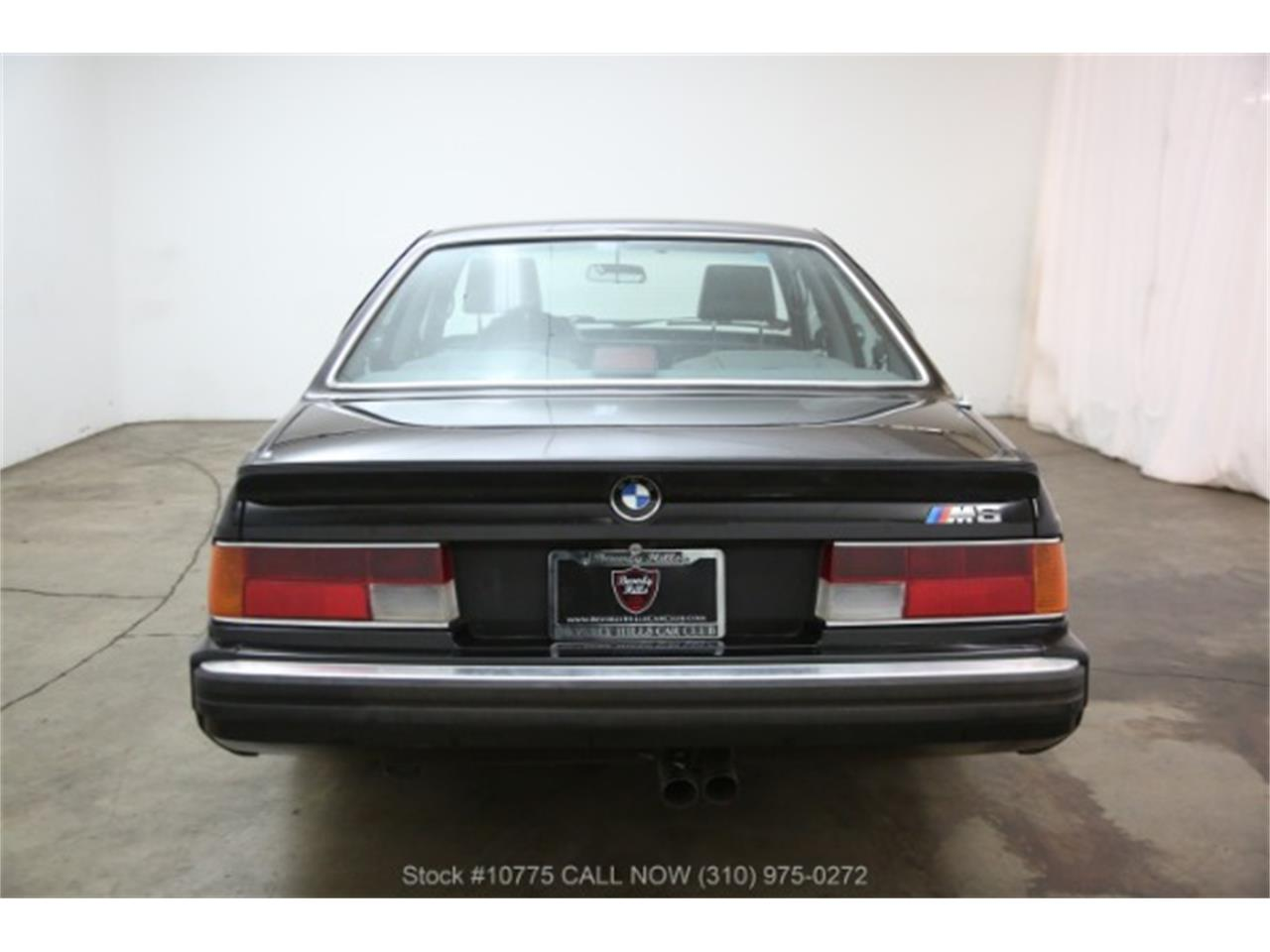 Large Picture of 1988 BMW M6 located in California - $37,500.00 Offered by Beverly Hills Car Club - PW8E