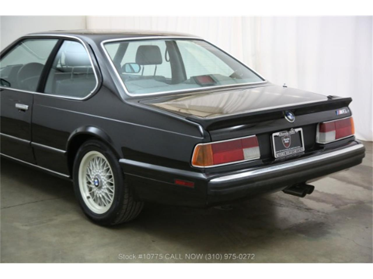 Large Picture of 1988 BMW M6 located in Beverly Hills California - PW8E
