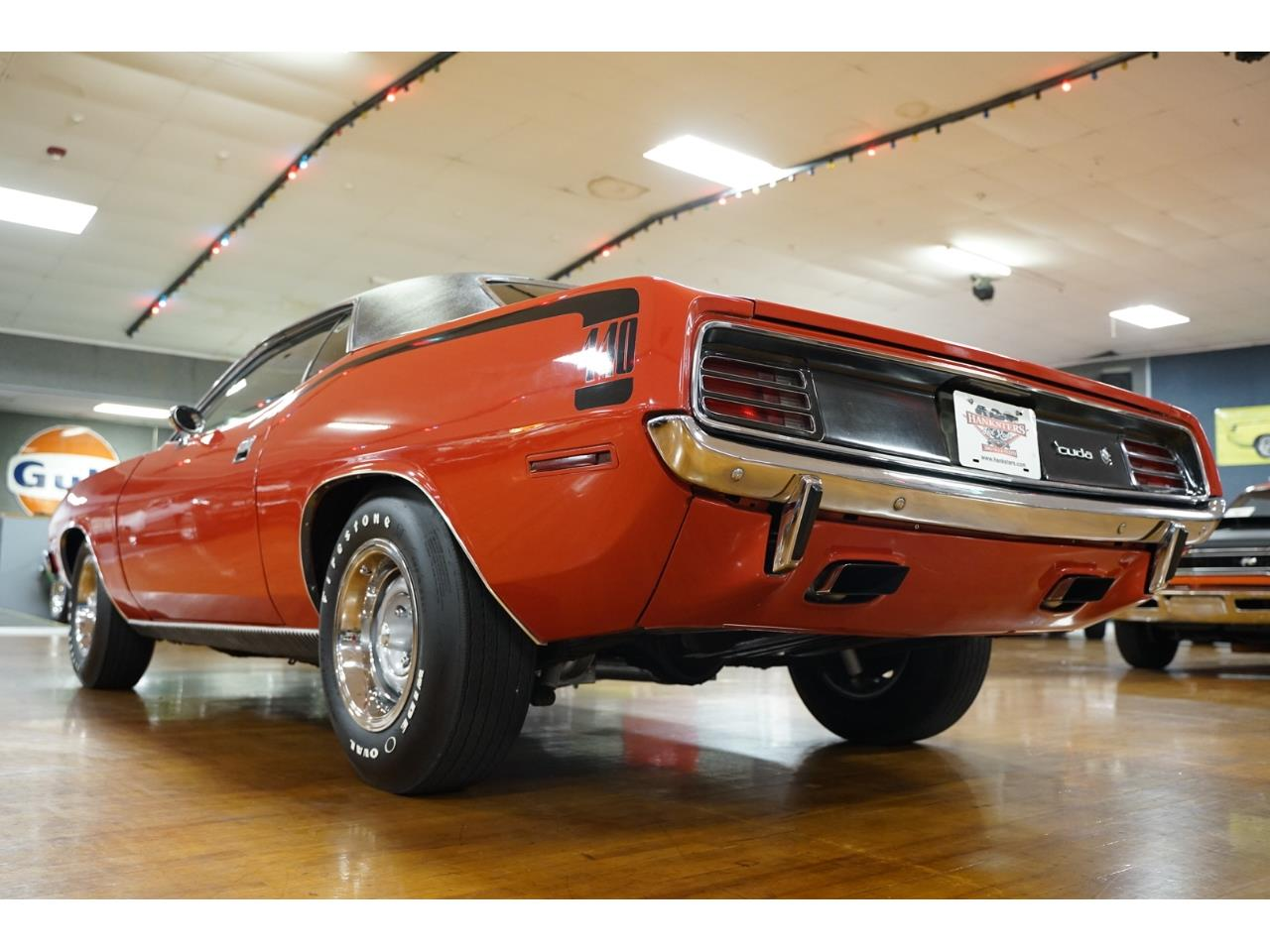 Large Picture of Classic '70 Cuda located in Homer City Pennsylvania Offered by Hanksters Hot Rods - PW8Q