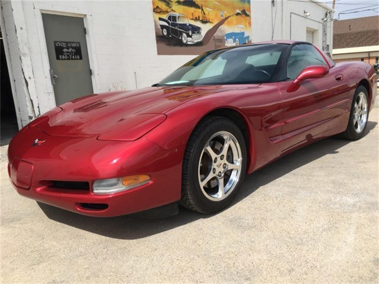 Large Picture of 2002 Corvette located in Texas Auction Vehicle Offered by Dan Kruse Classics - PWBK