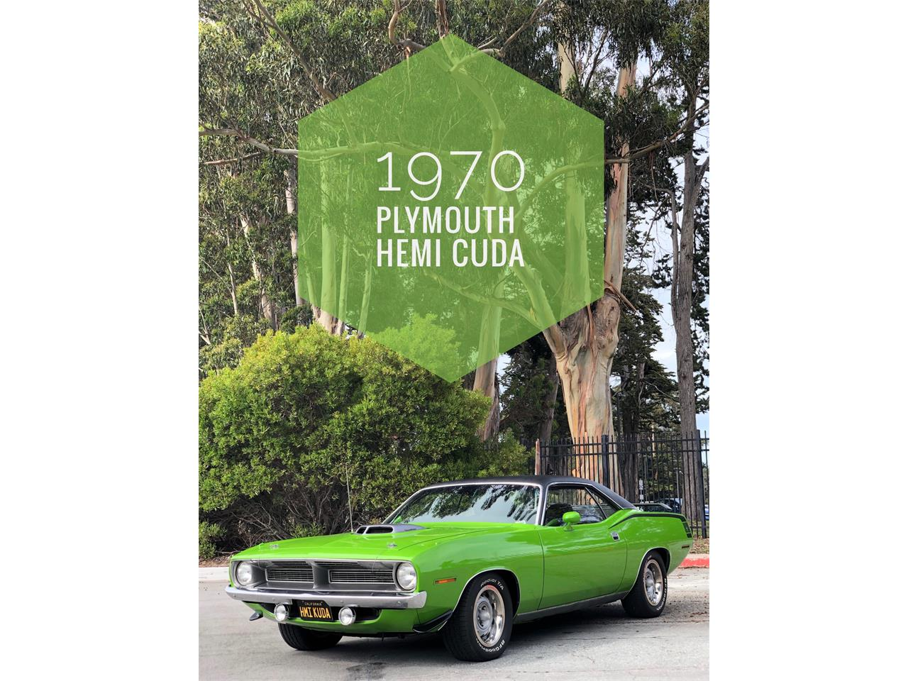 Large Picture of '70 Barracuda - PWG4