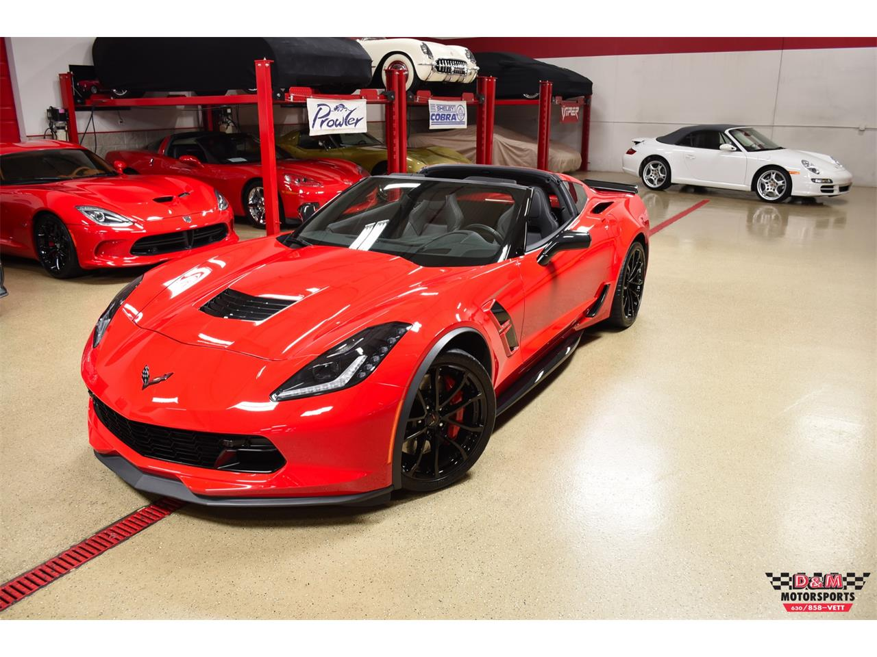 Large Picture of 2018 Chevrolet Corvette - PWM3