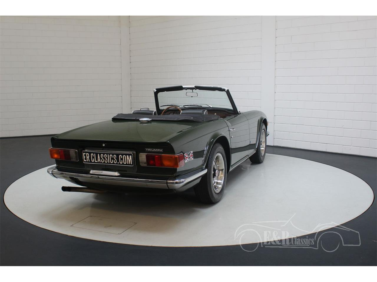 Large Picture of '69 TR6 - PWOE