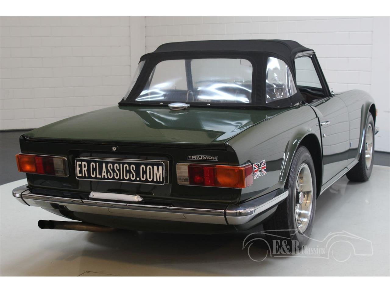 Large Picture of Classic 1969 TR6 - PWOE