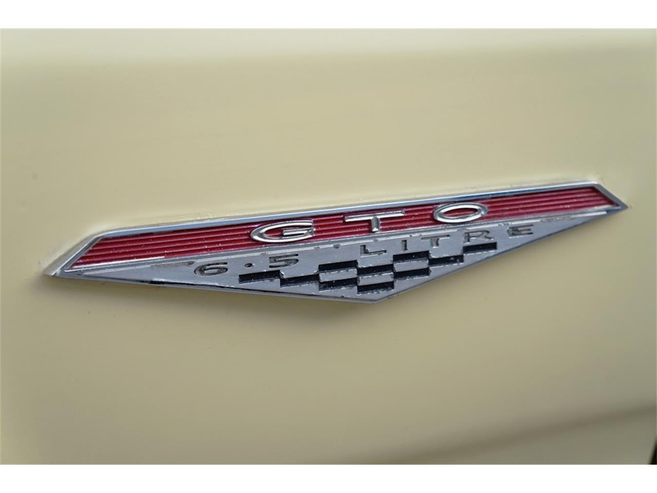 Large Picture of 1965 Pontiac GTO located in New Braunfels Texas Offered by A&E Classic Cars - PWOM