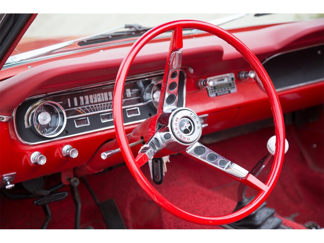 Large Picture of '65 Mustang - PWTA