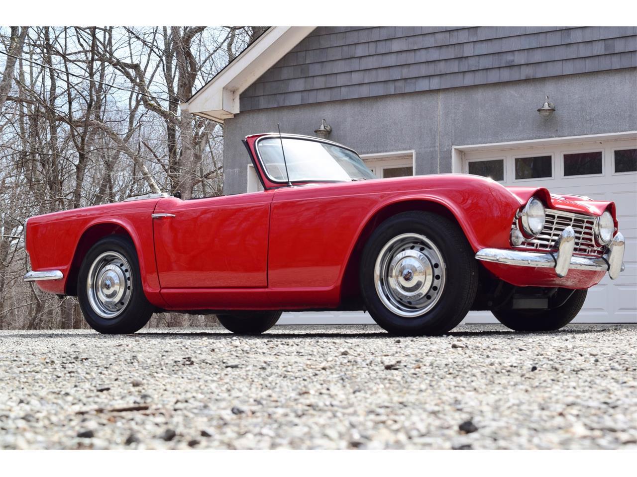 1965 Triumph Tr4 For Sale Classiccarscom Cc 1208992