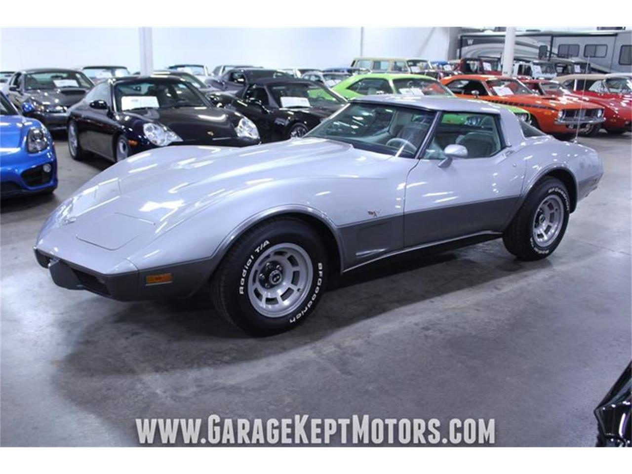 Large Picture of '78 Chevrolet Corvette Offered by Garage Kept Motors - PWXN