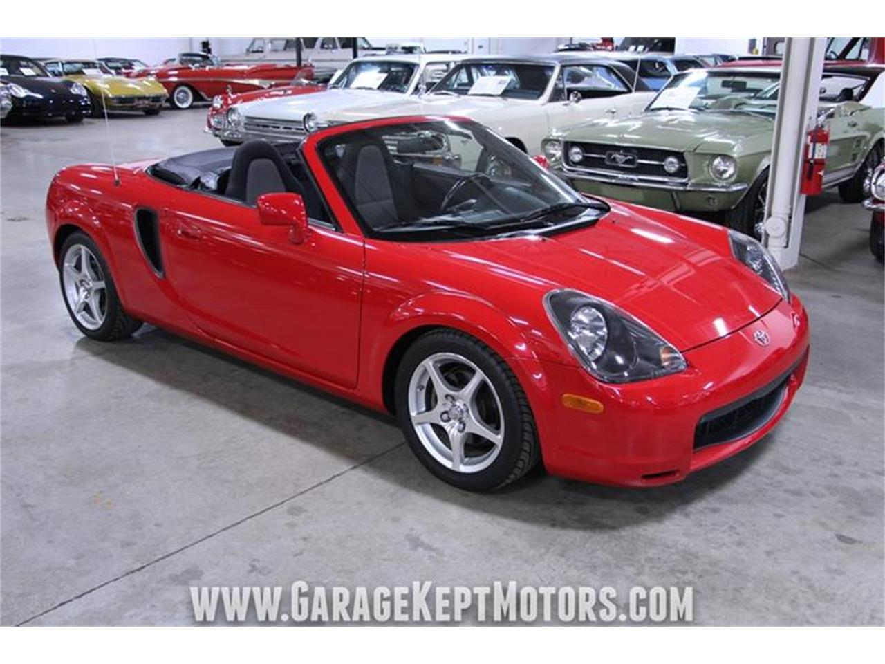 Large Picture of '01 MR2 Spyder - PWY3