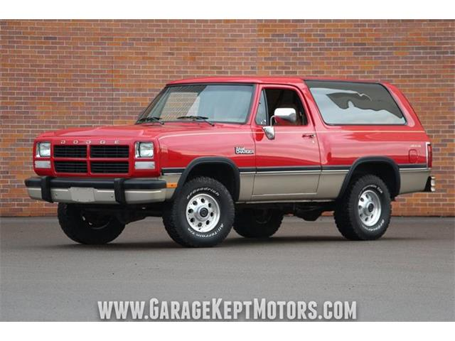 Picture of '93 Ramcharger - PWY7