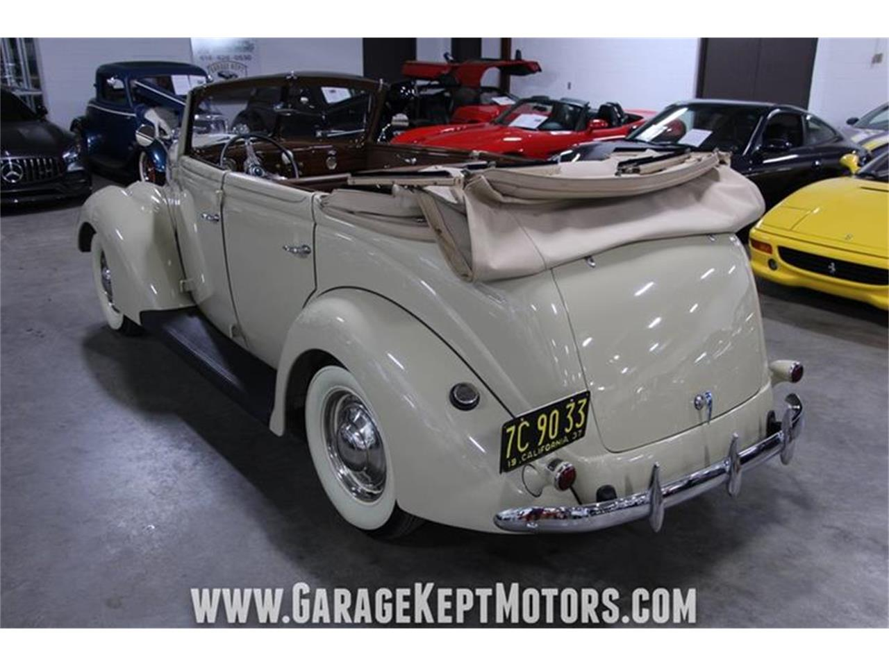 Large Picture of '37 Ford Deluxe located in Grand Rapids Michigan - $39,500.00 - PWYL