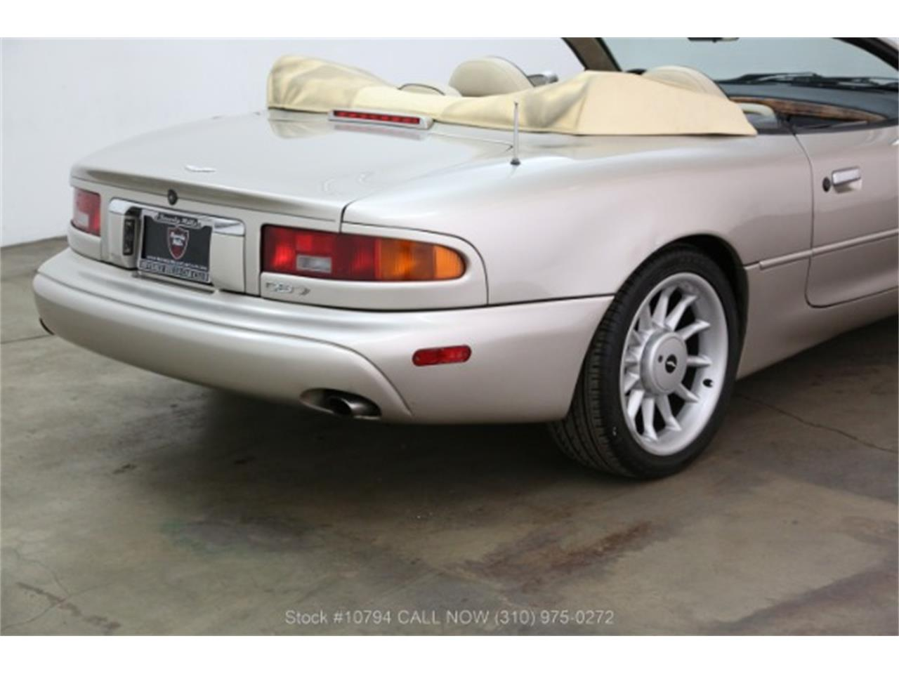 Large Picture of 1997 Aston Martin DB7 located in Beverly Hills California - PX12