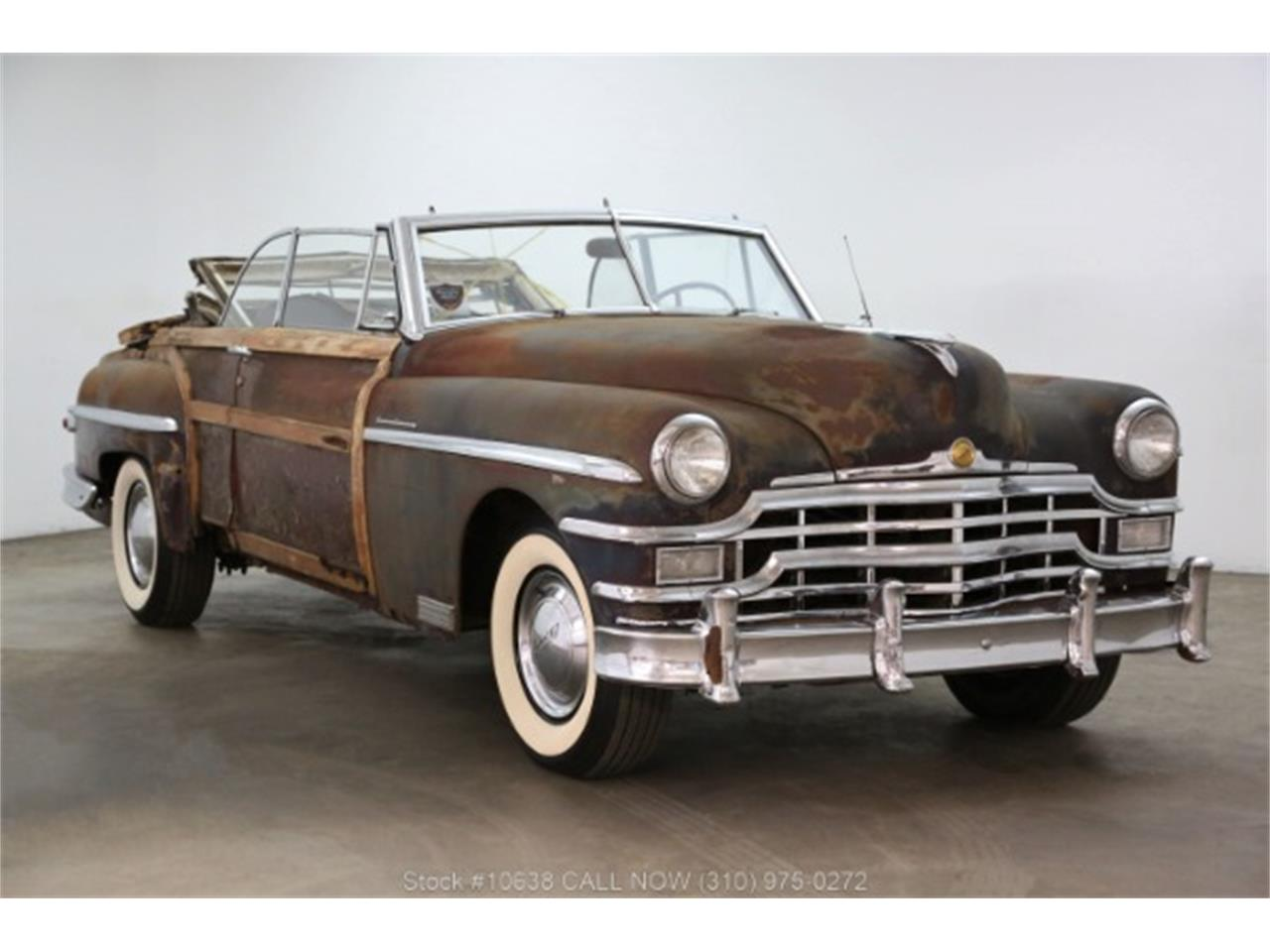 Large Picture of Classic '49 Chrysler Town & Country Offered by Beverly Hills Car Club - PQN9