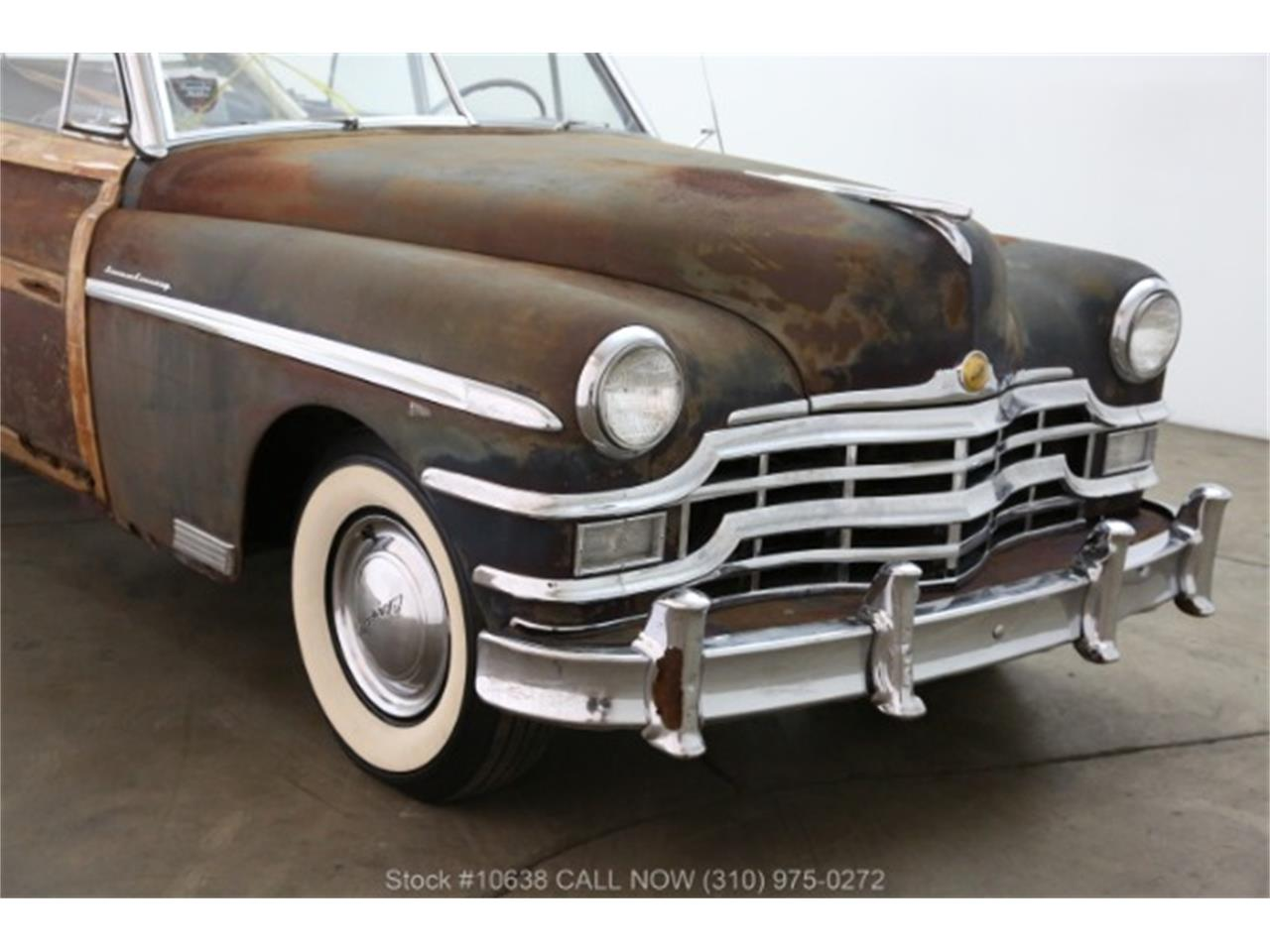 Large Picture of Classic 1949 Chrysler Town & Country located in Beverly Hills California - $23,500.00 Offered by Beverly Hills Car Club - PQN9